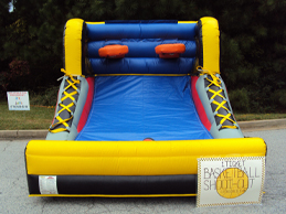 Giant Inflatable Basketball Game Rental